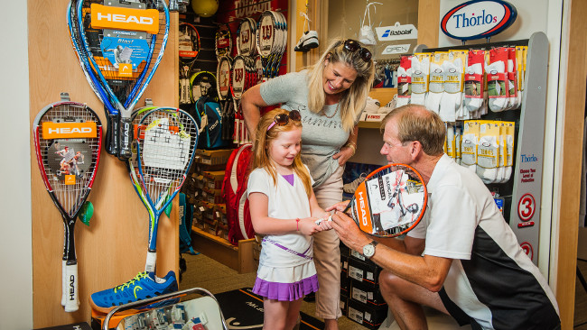 Cheltenham's only racquet sports specialist