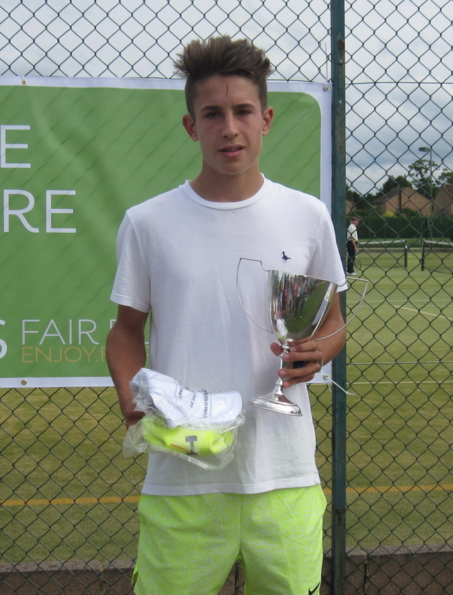 U16 Boys Winner Oliver