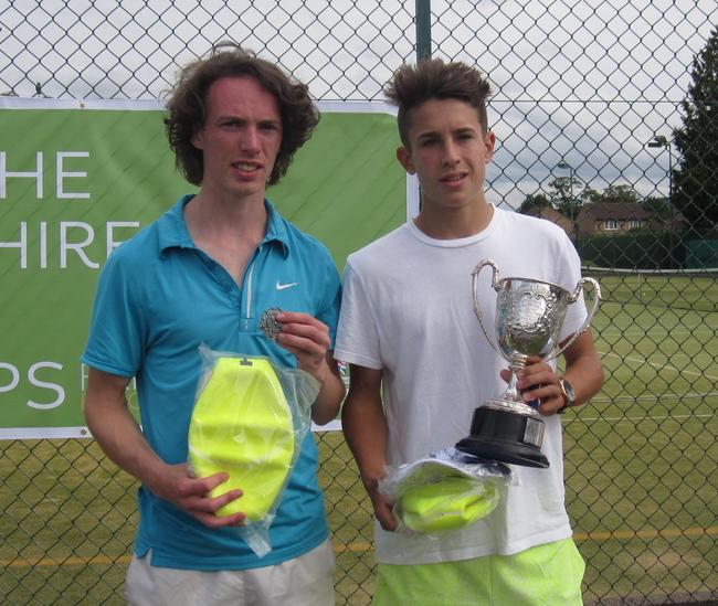 U18 Boys - Oliver (R) Jasper (L)