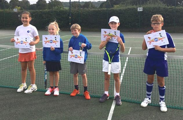 Mini tennis club championships 2018
