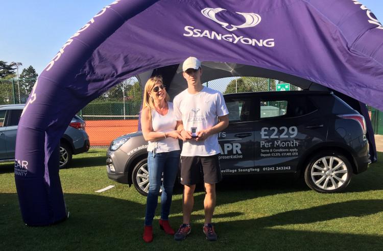 East Glos juniors celebrate successful week at Cheltenham Open Tennis Tournament