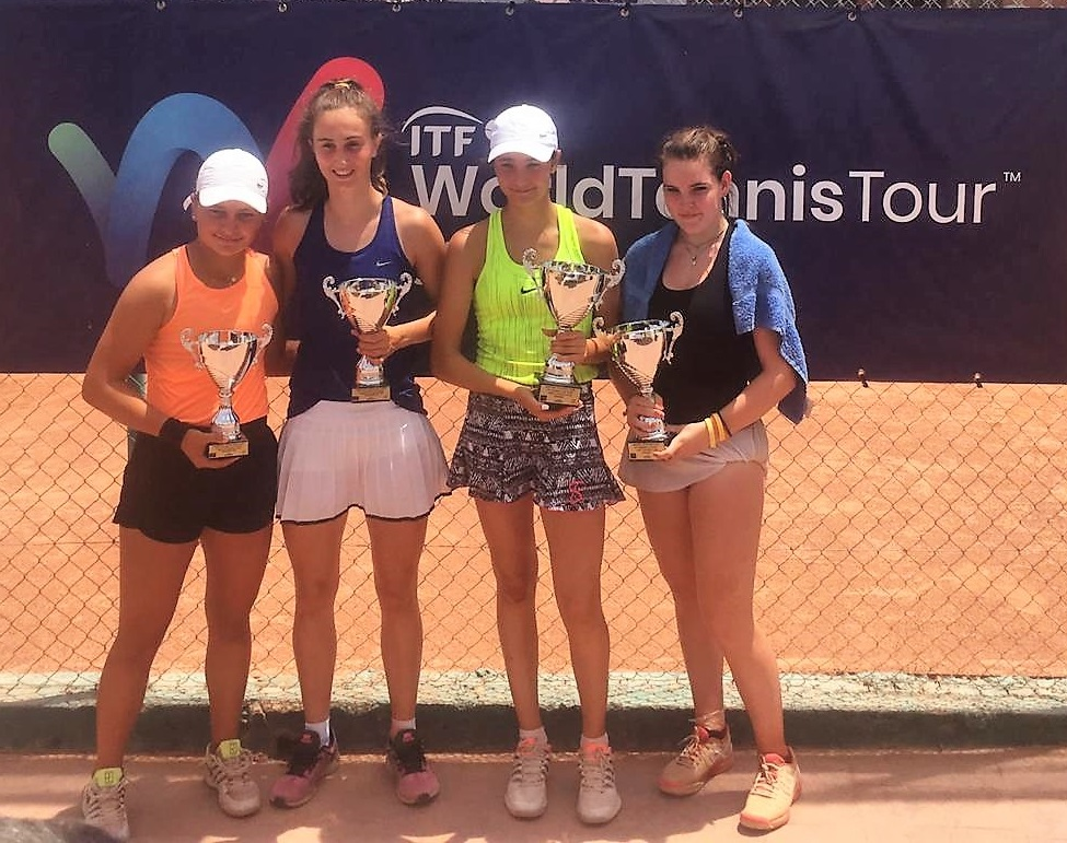 East Glos junior Charlie Russell wins second ITF title
