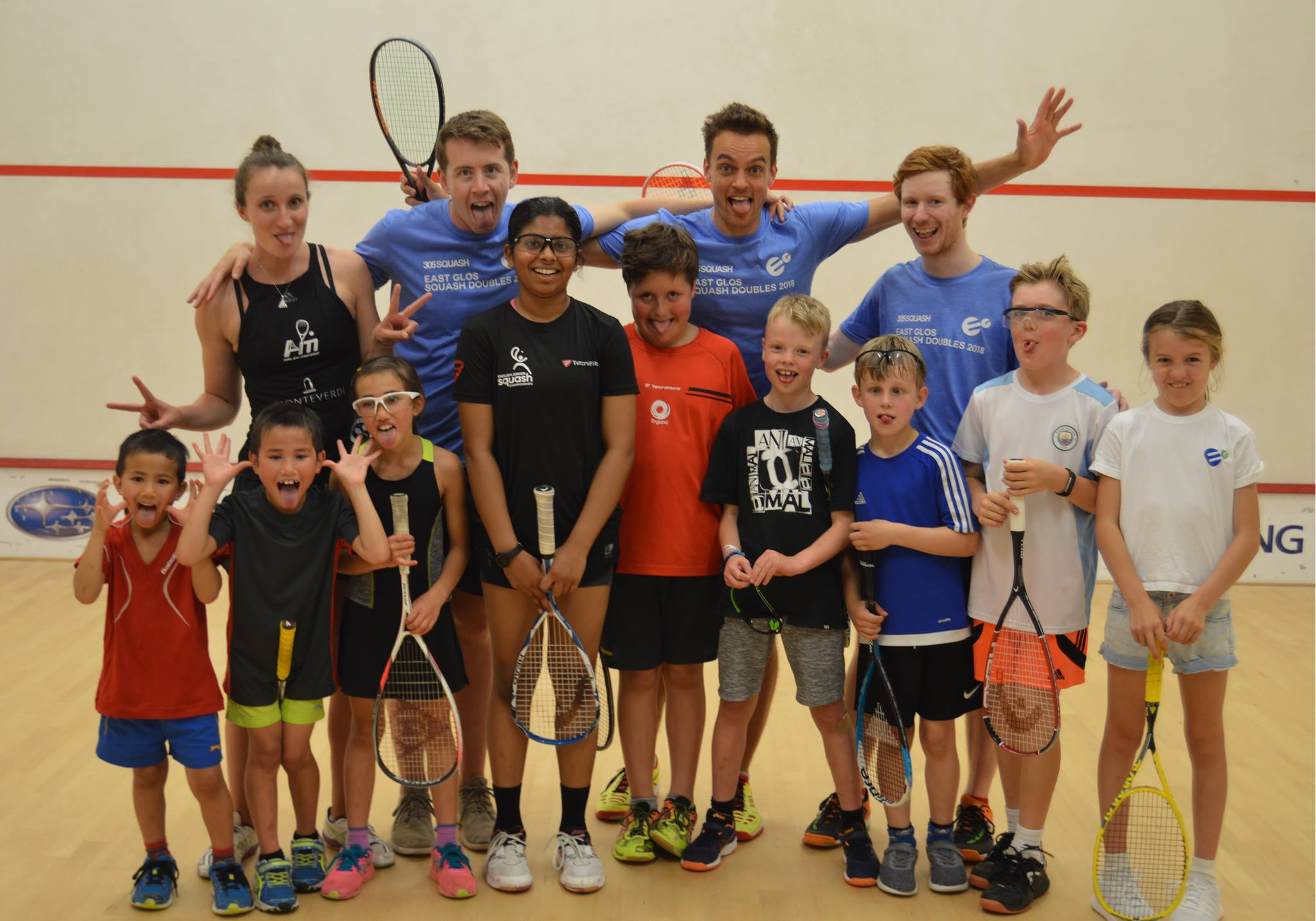 Reflections on six years of the East Glos Squash Doubles Tournament