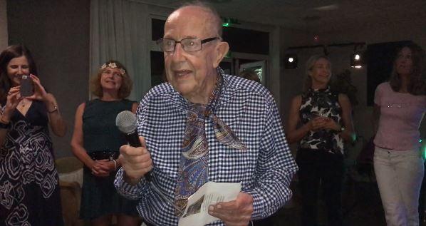 David Roberts 88th birthday party at East Glos