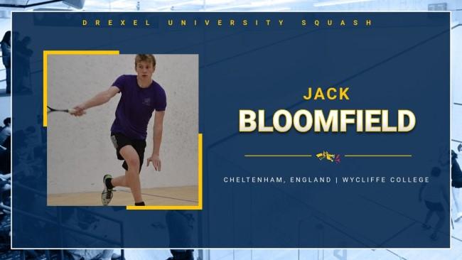 Cheltenham squashjunior Jack Bloomfieldearns scholarship at prestigious USuniversity