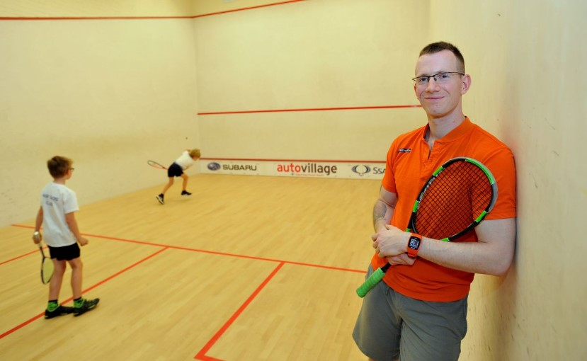 Squash Manager Mark Toseland: Wrapped up in books, and more