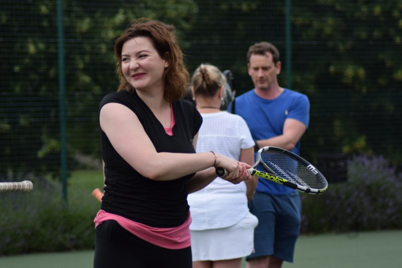 Competitive tennis