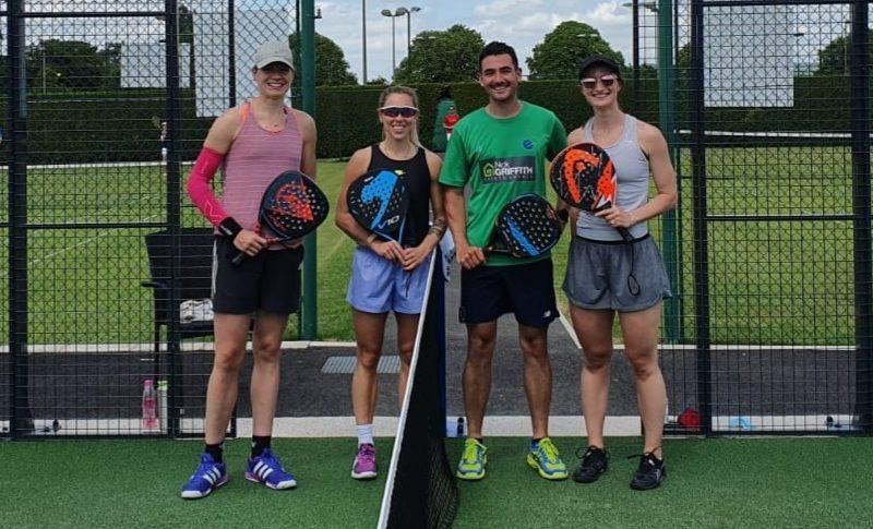 squash pros try padel