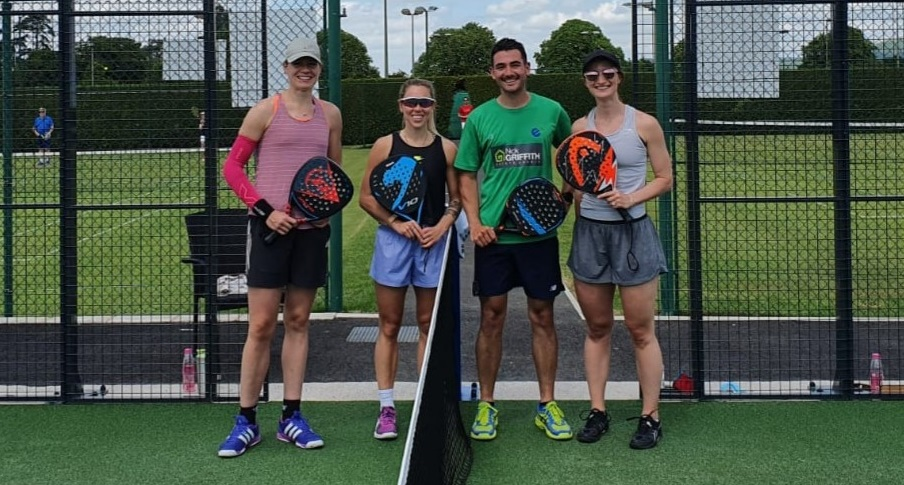 What happened when three world ranked squash players tried padel?