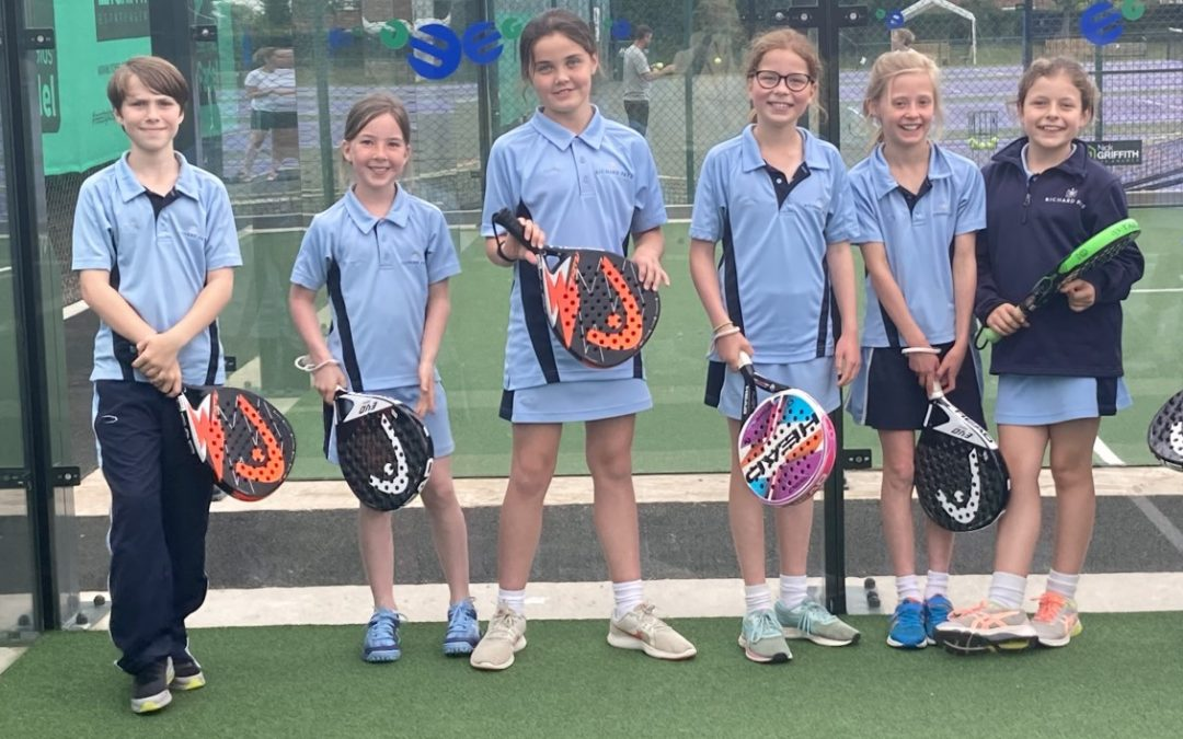 The Richard Pate School gets ahead on the south-west's first padel courts