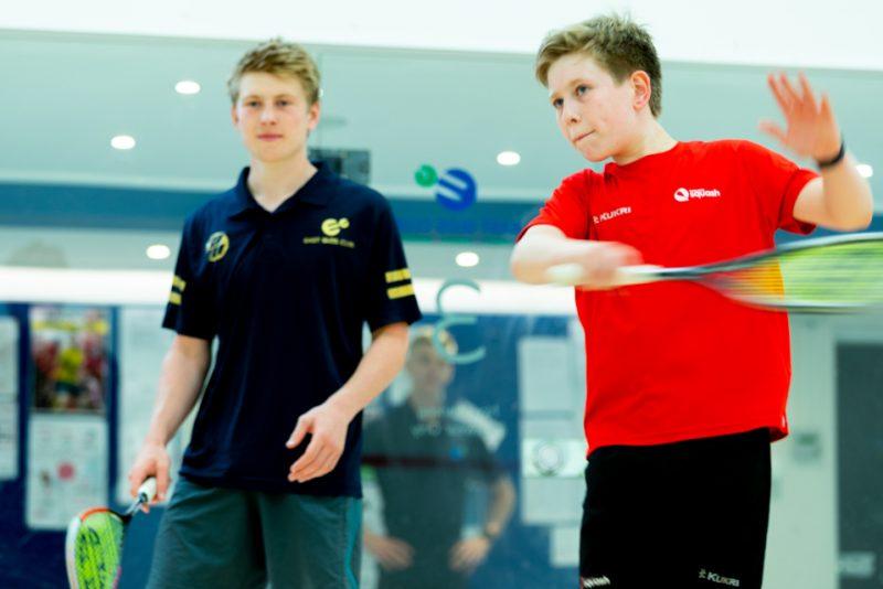 Junior performance squash
