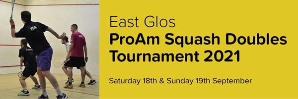 East Glos ProAm Squash Doubles Tournament 2021: Preview